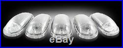 03-09 Dodge Ram Recon Led Clear Cab Roof Marker Lights