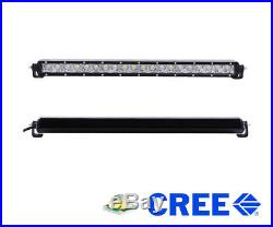 100W 20 LED Light Bar with Lower Bumper Bracket, Wiring For GMC 1500, 2500/3500HD