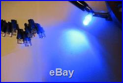 10x T5 74 1-led blue or white DASHBOARD LED CAR LIGHT Choose Colors