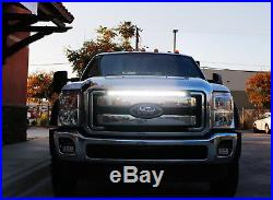 150W 30 LED Light Bar withBehind Grille Mount Bracket, Wiring For 11-16 F250 F350
