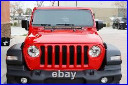 150W 30 LED Light Bar with Front Hood Top Bracket Wiring For 18+ Jeep Wrangler JL