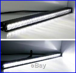 150W 30 LED Light Bar with Hidden Behind Grill Mounts, Wiring For 17+ Ford Raptor