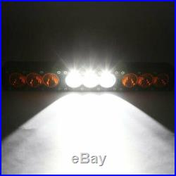 16.6'' 90W LED Work Light Bar Combo Driving Fog Lamp Offroad 4WD SUV Amber White