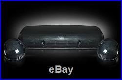 2002-2007 Chevy Silverado Smoked Cab Roof Light Kit White LED Lights Factory FIt