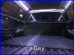 2005 2020 Toyota Tacoma with camper shell. LED bed light kit