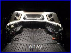 2005 2021 Toyota Tacoma with camper shell. LED bed light kit