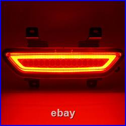 2015 2016 2017 Ford Mustang LED Rear 4th Brake Tail Back Up Reverse Light Smoked