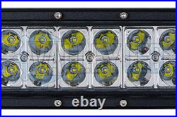 20 120w Curved LED Light Bar Combo IP68 Driving Light Off Road 4x4 Boat