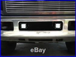24W LED Pods with Foglight Bracket/Wirings For 05-07 Ford F250 F350 F450 SuperDuty