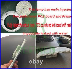 260mm Led Swimming Pool Light RGB 316L Stainless 12V Resin Filled 2M 35W CE ROHS