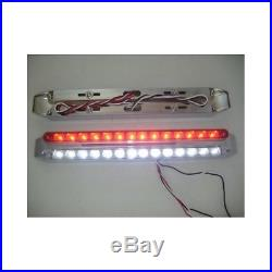 28 LED Combo Red Brake Stop Turn Tail Lights / White Reverse Back Up Lights