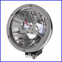2X 7inch 45W LED Work Light Spot Round Driving Fog Lamp Offroad Truck Boat SUV