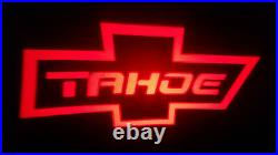 2pc White Tahoe 5w Led Emblem Door Projector Ghost Shadow Puddle Logo Light