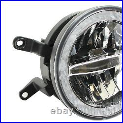 30W CREE LED Driving Fog Light Kit withLED Halo Ring For 2005-2009 Ford Mustang