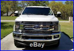 30W CREE LED Light Bars with Front Grille Bracket Wirings For 17-up Ford F250 F350