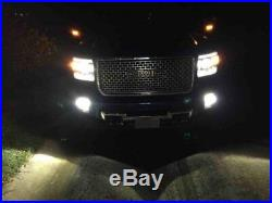 40W CREE LED Pods withFoglight Cover, Bracket Mounts Relay For 15-up GMC 2500 3500