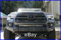 40W CREE LED Pods with Bracket, Fog Bezels Covers, Wirings For 16+ Toyota Tacoma