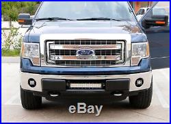 40W CREE LED Pods with Foglights Location Bracket, Wirings For 06-14 Ford F150