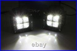 40W CREE LED Pods with Lower Bumper Mounting Bracket For 09-18 Dodge RAM 2500 3500