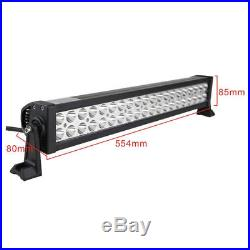42Inch LED Light Bar Combo + 22in +4 CREE PODS OFFROAD SUV 4WD ATV FORD JEEP 40