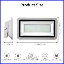 500W LED Flood Light Cool/Warm White Outdoor Landscape Security Work Lamp IP65