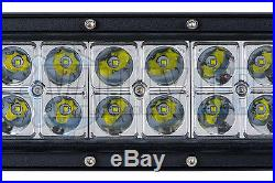 50 300w Curved Cree LED Light Bar Combo IP68 Driving Light Off Road 4WD Boat
