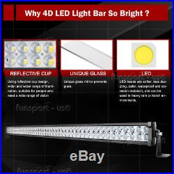 50inch 700W Curved LED work Light Bar spot flood driving offroad bar ATV UTE 4WD