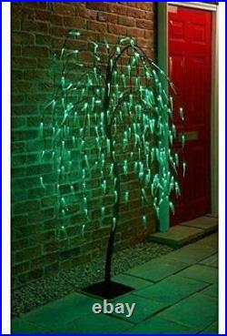 5FT 240 LED Light Weeping Willow Tree Christmas Decor Garden Indoor/Outdoor Use