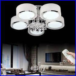 5/7 Way Round fashion Modern LED Crystal Ceiling Lights Aisle Living Room Lamp
