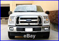 80W CREE Cubic LED Foglamps withMounting Brackets, Bezels For 2015-2017 Ford F-150