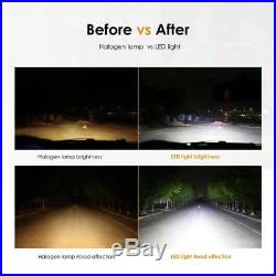 AUXBEAM 70W 8000lm LED Headlight Kit H4 HB2 9003 Hi/lo beams 6000K with Canbus