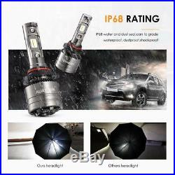AUXBEAM 9006 HB4 LED Headlight Bulb Kit Low Beam 6000K 70W 8000LM with canbus