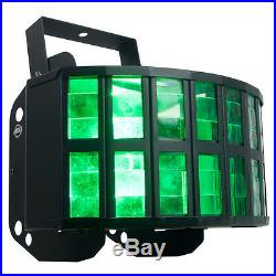 American DJ ADJ AGGRESSOR HEX LED 6-Color RGBCAW White Sound-Activated Light