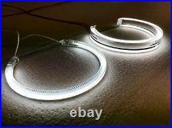 Bmw E46 Angel Eyes Crystal Led 7000k White For Projector Headlights