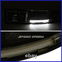 Built-in Led Drlfor 07-14 Escalade Esv/ext Smoked Lens Bumper Fog Light Lamps