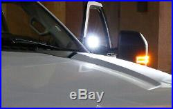 CREE LED Pod Lights with A-Pillar Mounting Brackets Wiring For 15+ Chevy GMC Truck