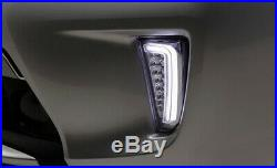 Clear Switchback LED Daytime Running Light/Turn Signal For 2012-15 Toyota Prius