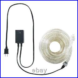 Cool White LED Rope Lights 10', 25', 60', 150' ft with8 Mode Controller Extendable
