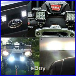Curtis Cabs John Deere Tractor 18W 4 inch LED Light Bar Spot Beam For Jeep Boat