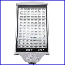 DELight 98W LED Road Street Light Outdoor Industrial Spot Lamp Cool White IP65