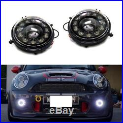 Direct Fit 12-CREE LED Daytime Running Lights Fog Lamp Assembly For MINI Cooper