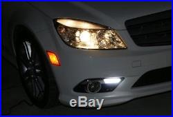 Direct Fit 14W LED Daytime Running Lights For 08-10 Mercedes W204 C-Class Sports