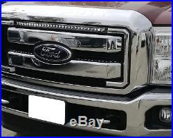 Fit For 2011-2016 F250 F350 30Inch Slim 150W Front Grille LED Light Bar +Wiring