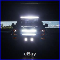 Fit TOYOTA 4Runner Tacoma 50.5 Curved Light Bar Upper Roof Driving Lamp +Wiring