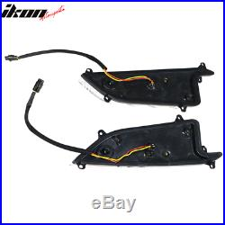Fits 16-20 Honda X Gen Civic Type R Style LED DRL Daytime Running Lights Lamps