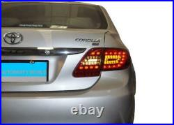 For 12-14 Toyota Corolla Altis Led Tail Light Red White Not Fit To Usa Corolla