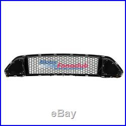 For Ford Mustang 15-17 Front Bumper Hood Grill Grille DRL LED White Light Insert