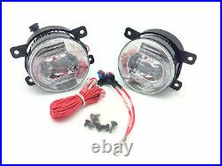 For Ford Transit Connect 4/2006- Front LED fog lights & DRL pair left & right