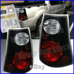 Ford Explorer Sport Trac Only Clear Black Tail Lights +white License Plate Bulbs