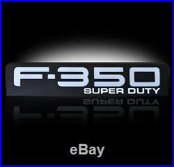 Ford Super duty F350 LED Lighted Fender Emblems 2008,2009,2010 By Recon BLACK